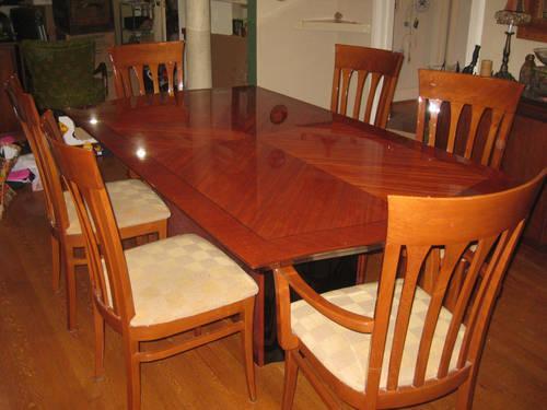 Italian Dining Set Seats 6 10
