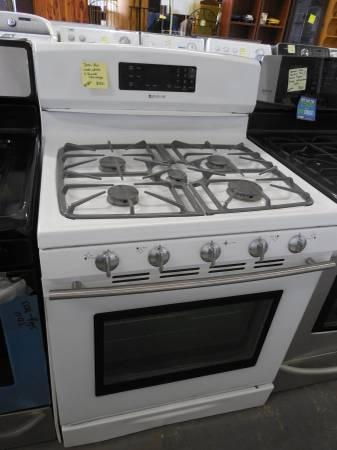 Its Here Only The Outlet Jenn Air Used White 5 Burner