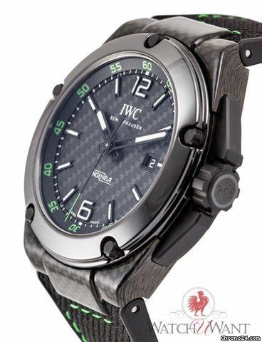 factory authentic 349f2 f1e02 IWC Ingenieur Automatic Carbon Performance Ceramic IW322404 ...
