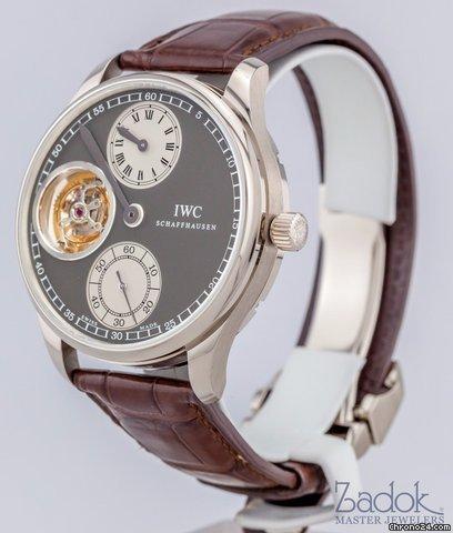 IWC Portugueser Tourbillon Regulator 18K White Gold 43mm Mens Watch Ltd. 41100