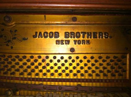 Jacobs Brother Piano