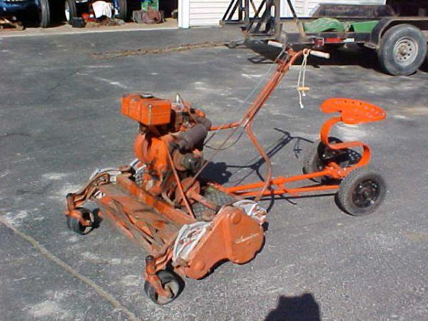 JACOBSEN ANTIQUE REEL MOWER & SULKY - $300 (CLARKSTON, MI )