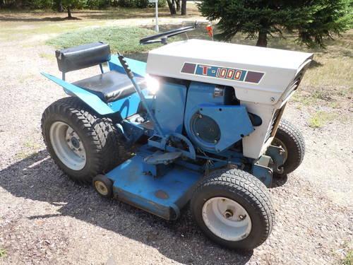 jacobsen kohler garden tractor 10hp cast iron w plow