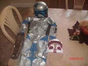 how to make a jango fett costume