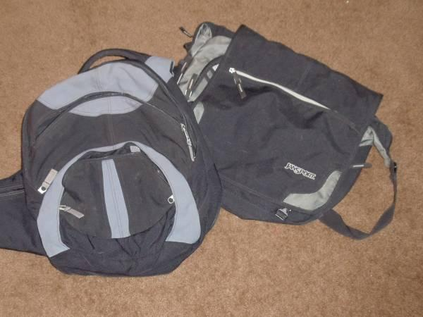 Jansport backpack and bag - $20
