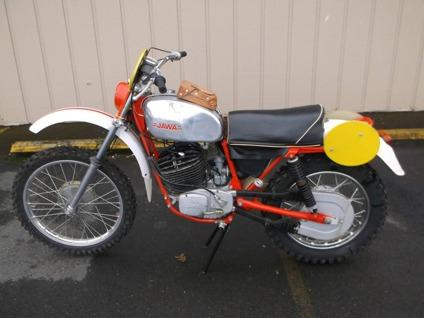 Jawa Model 654 360cc Isdt Six Days For Sale In Salem