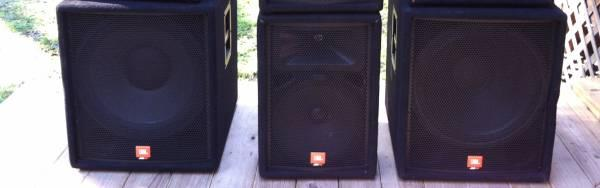 JBL JRX100 Speakers -- 118S -- Pair - $475