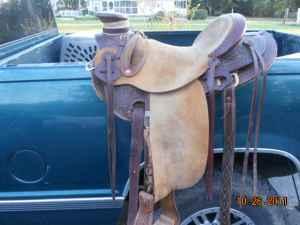 Jc Martin Wade tree saddle (Randleman)