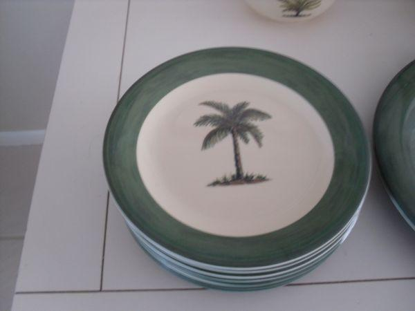 Jc penney home goods palm tree melamine dinnerware north englewood for sale in sarasota Home goods palm beach gardens