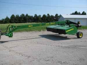 JD 946 Moco disc mower conditioner (Seneca Kansas) for Sale in