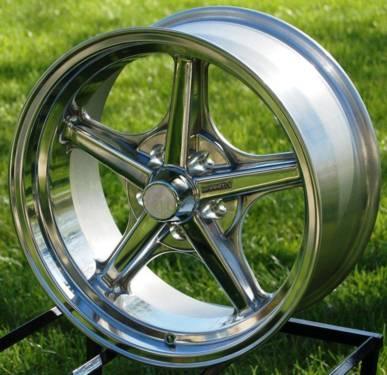 Jd Wheels 15x6 Halibrand Polished Gasser Replica Pair 2