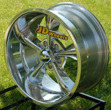 Jd Wheels 18x8 Showwheels Streeter Polished 5x4 75 Gm