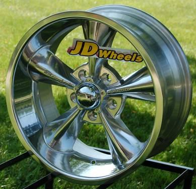 Jd Wheels 18x9 Showwheels Streeter Polished 5x4 Dodge Dart