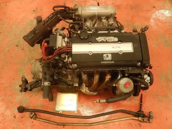 JDM HONDA CIVIC SIR B16A 1.6L DOHC VTEC ENGINE OBD-1 - $2600