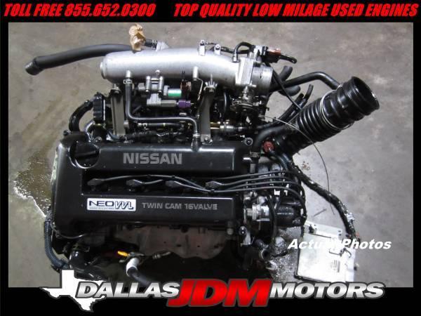 JDM Nissan Sentra SR20VE NEO VVL Engine ECU DOHC 2.0 SR20 ...