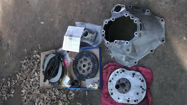 Jeep 2.5L Engine to AX15 Transmission Adapter - $250