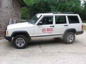 jeep cherokee 2000 rhd postal vehicle enterprise alabama for sale in dothan alabama. Black Bedroom Furniture Sets. Home Design Ideas