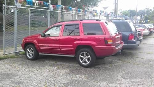 jeep cherokee 2002 color red mpg city 13 hwy 18 for sale in bridgeport connecticut classified. Black Bedroom Furniture Sets. Home Design Ideas