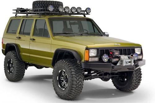 jeep cherokee bushwacker flat flare fenders