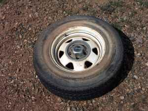 Jeep Cherokee rims - $50 (Paulden)