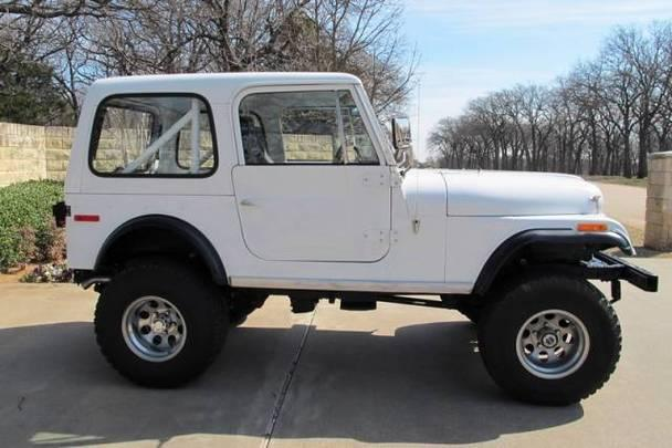 jeep cj 7 v 8 a c automatic for sale in mansfield texas classified. Black Bedroom Furniture Sets. Home Design Ideas