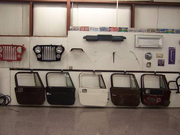 Jeep CJ7 or YJ Wrangler Full Hard Doors - for Sale in Findlay, Ohio
