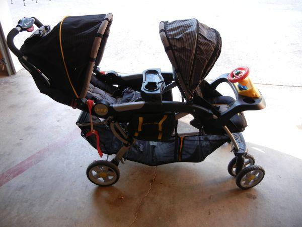 Jeep Double Stroller - $80 (South Huntsville)