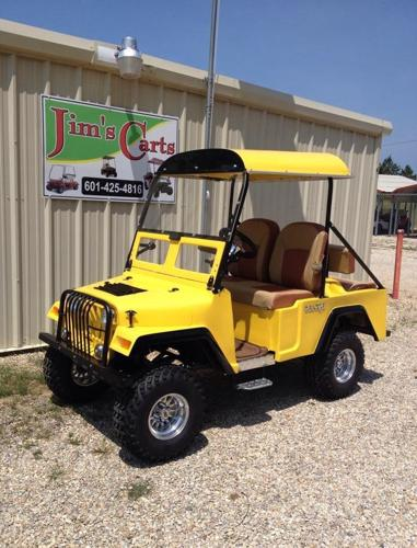 Jeep Golf Cart For Sale