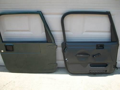 Jeep Tj Wrangler Full Metal Doors For Sale In Cheraw