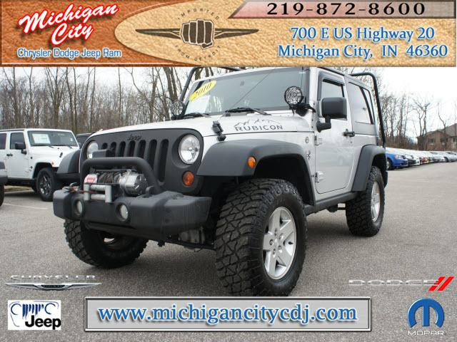 jeep wrangler 4x4 rubicon 2dr suv 2010 for sale in long beach indiana classified. Black Bedroom Furniture Sets. Home Design Ideas