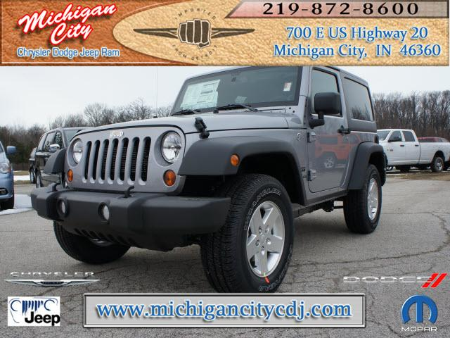 jeep wrangler 4x4 sport 2dr suv 2013 for sale in long beach indiana classified. Black Bedroom Furniture Sets. Home Design Ideas