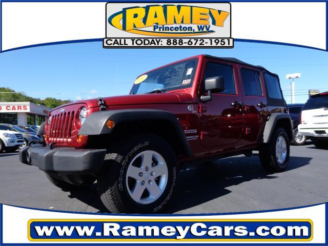 Jeep wrangler 4x4 sport 4dr suv 2012 for sale in elgood for Ramey motors princeton wv