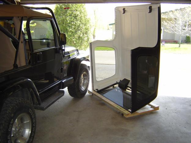 Jeep Wrangler Hard Top Storage Dolly Plans Free For Sale