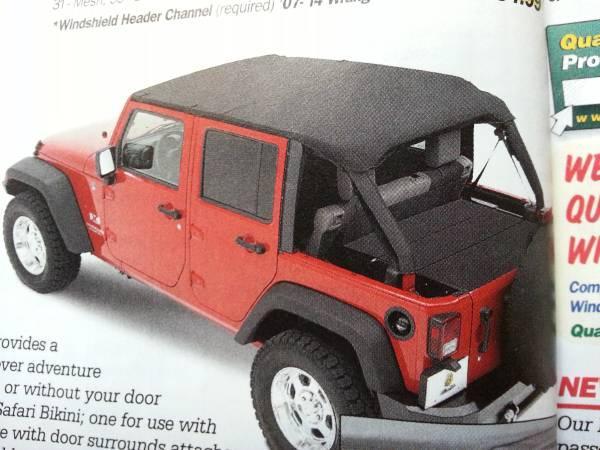 Jeep Wrangler JK Top and Cart - $100