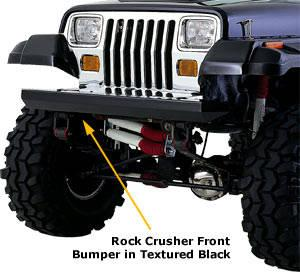 JEEP WRANGLER REAR BUMPER WITH TIRE CARRIER & FRONT ...