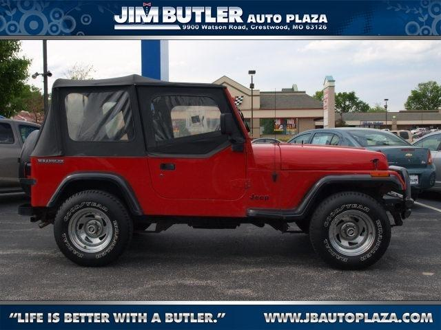 jeep wrangler s 1991 1991 jeep wrangler s car for sale in saint louis mo 4427429276 used. Black Bedroom Furniture Sets. Home Design Ideas