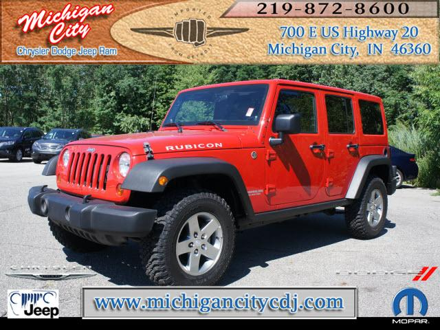 Jeep Wrangler Unlimited 4x4 Rubicon 4dr Suv 2012 For Sale