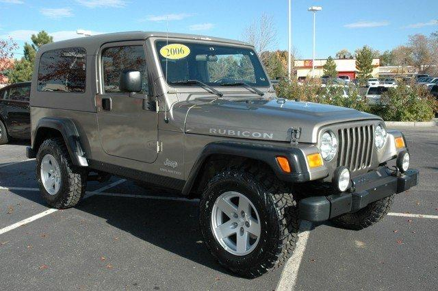 JEEP Wrangler Unlimited Rubicon 2dr SUV 4WD 2006