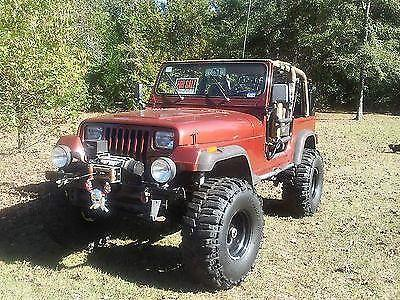 Jeep Yj Wrangler 1994 Lifted 4x4 Rock Crawler Mudder Rhino