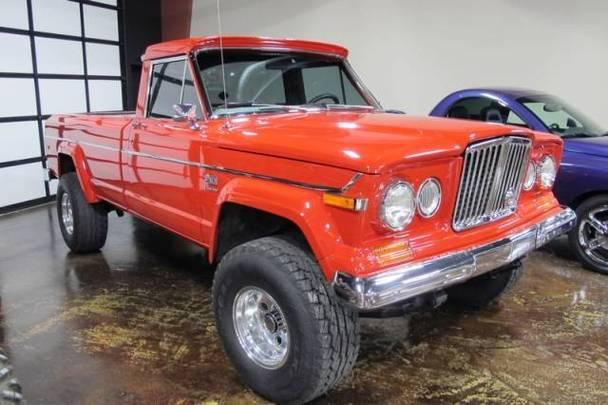 jeep j10 pick up 4x4 v 8 auto full power for sale in mansfield texas classified. Black Bedroom Furniture Sets. Home Design Ideas