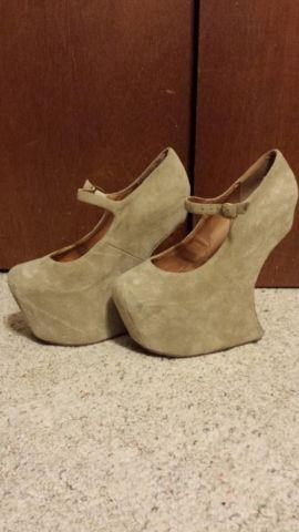 Jeffrey Campbell Heel Less Shoes Review
