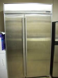 Jenn Air 48 Quot Built In Stainless Counter Depth Refrigerator