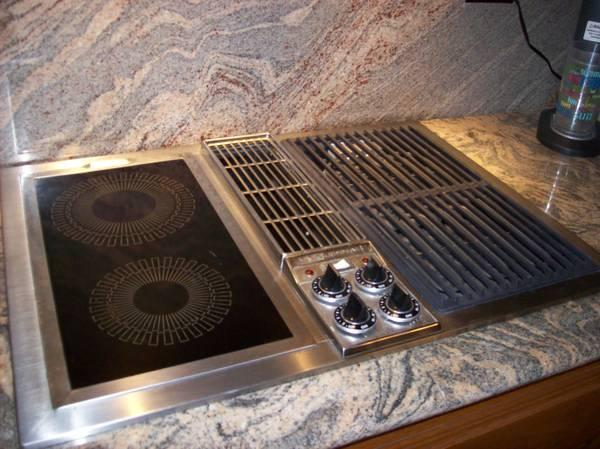 cooktop with vent. JENN-AIR C-221 30 Cooktop With Vent