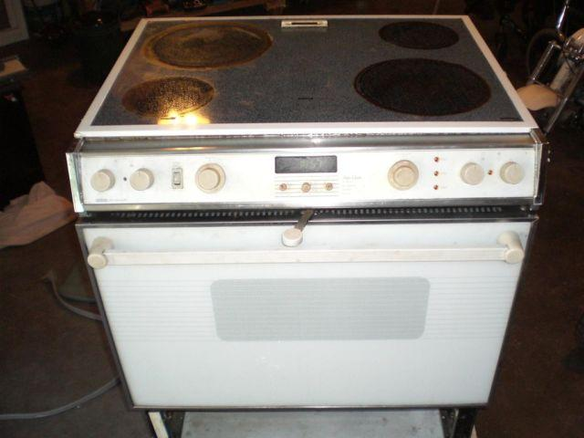 Jenn Air Jennair Jenn Air Ceran Glass Top Stove Oven