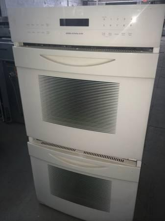 Jenn Air White Double Wall Oven For Sale In Clifton New