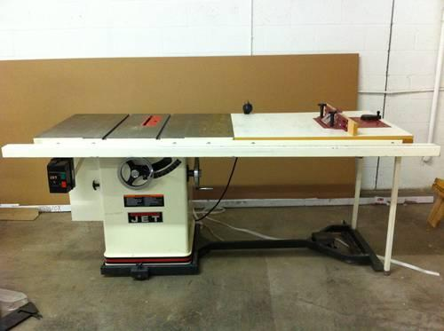 Jet 5 Hp Table Saw W Router Lift For Sale In Phoenix