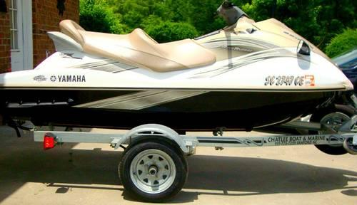 jet ski yamaha wave runner vx cruiser for sale in conway south carolina classified. Black Bedroom Furniture Sets. Home Design Ideas