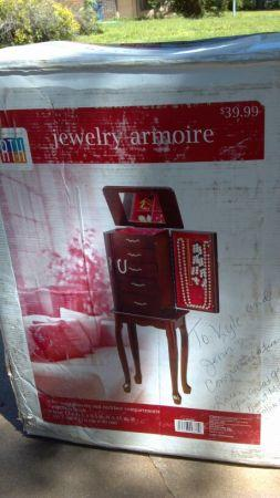 Jewelry Armoire - $25 South Tulsa