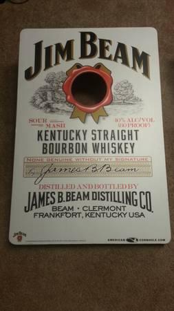 Jim Beam whiskey bean bag tossbago game - $75