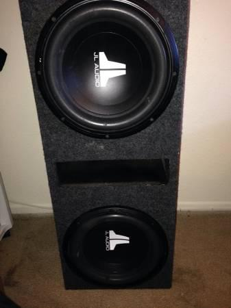 JL audio subs and Rockford Fosgate amp trade for RC - $350